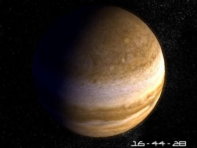 Planet Jupiter 3D Screensaver