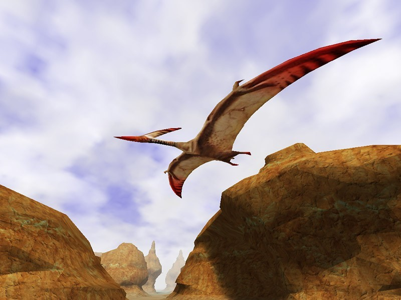 Canyon Flight 3D Screensaver for Mac OS X