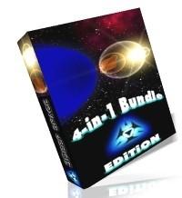 3D Space Screensavers 4-in-1 Bundle