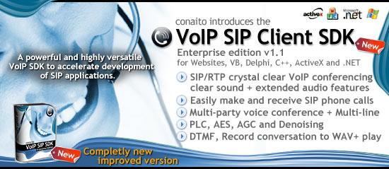 SIP Softphone ActiveX