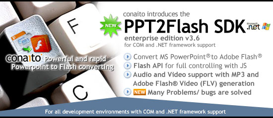 PowerPoint-to-Flash API for Developer