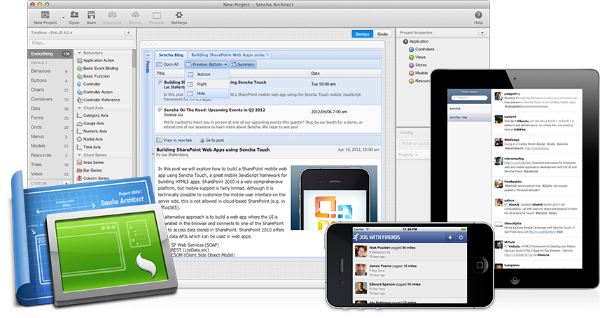 Sencha Architect for Mac 2.1.0 Build