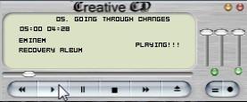 Creative CD! - Skinnable CD Audio Player