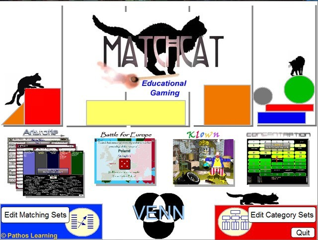 Classroom Matching Smartboard Games