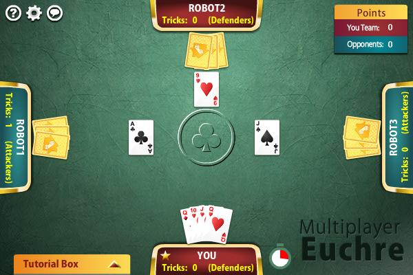 Multiplayer Euchre