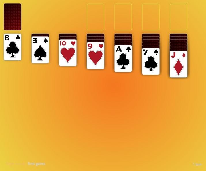 Three Card Three Pass Klondike Solitaire