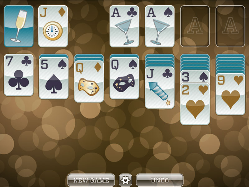 New Years Solitaire