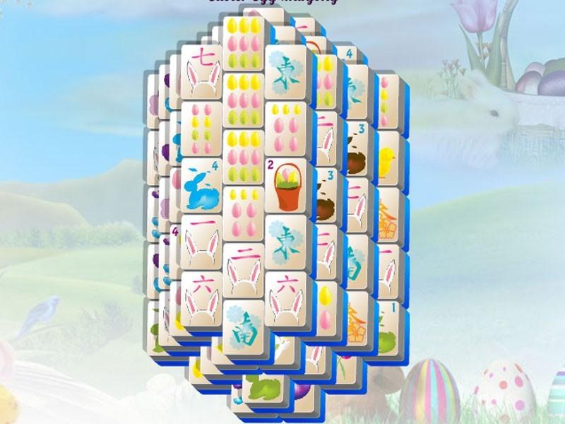 Easter Egg Mahjong