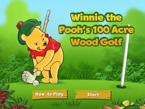 Winnie the Poohs 100 Acre Wood Golf