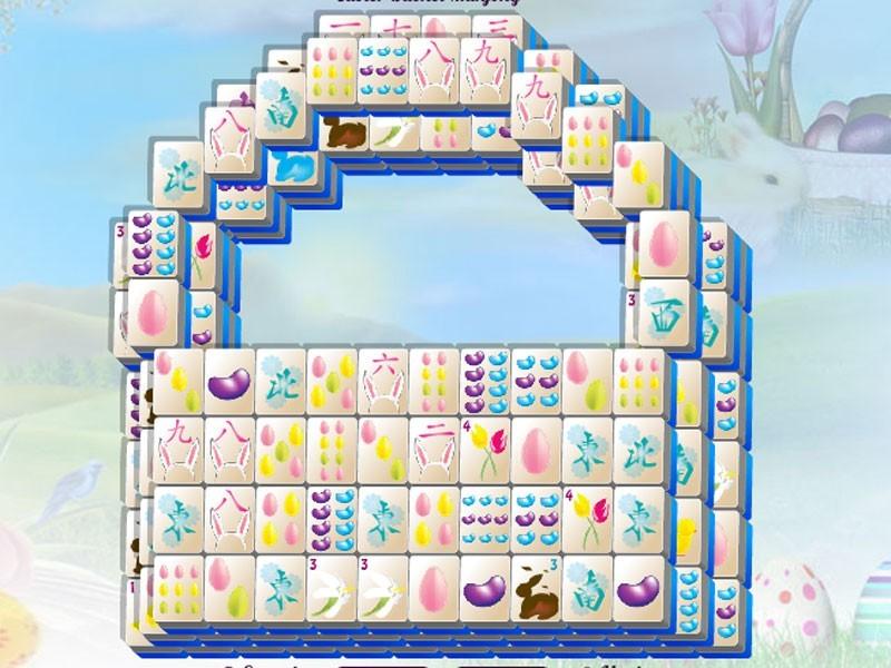 Easter Basket Mahjong