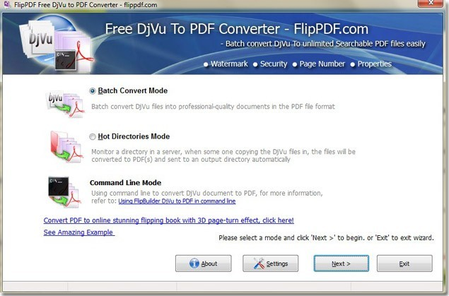 djvu to pdf converter free download mac