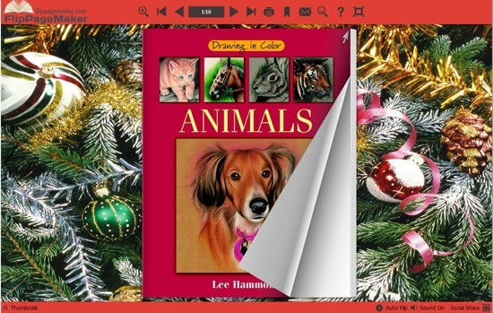 FlipBook Creator Themes Neat - Christmas Ball