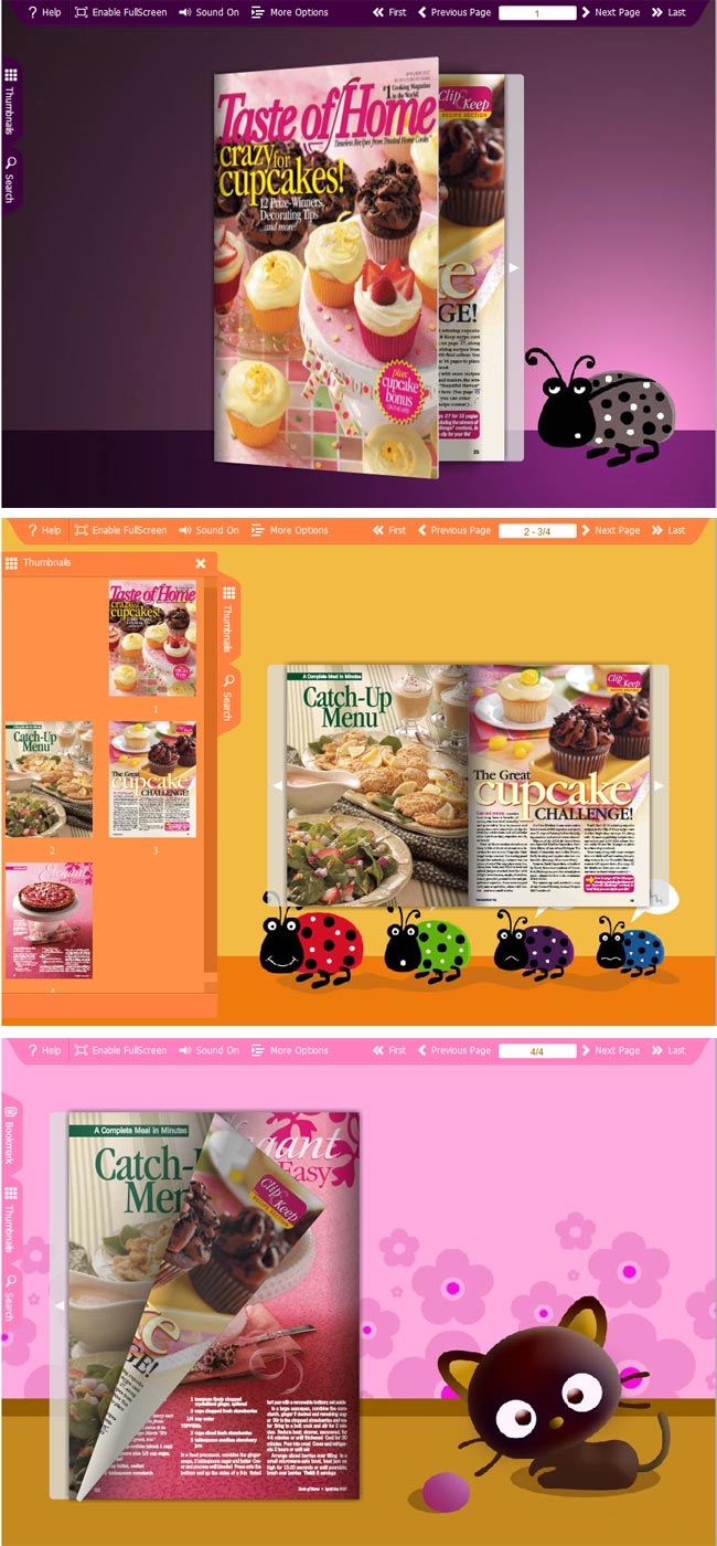 Flipbook_Themes_Package_Spread_Lovely