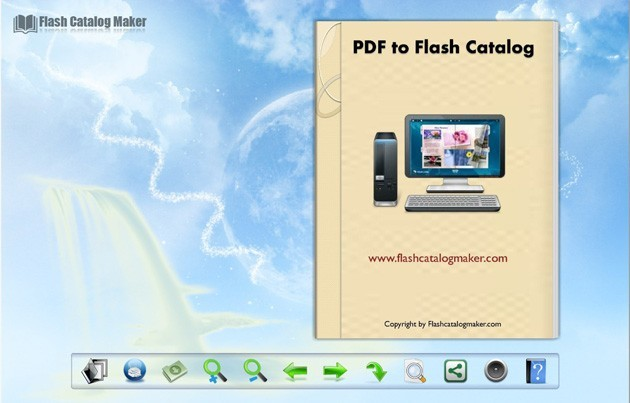 Flash Catalog Templates of Shining Style