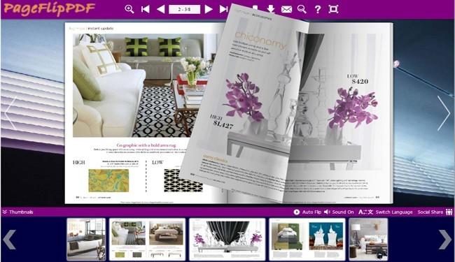 Architecture Theme for Flip Ebook