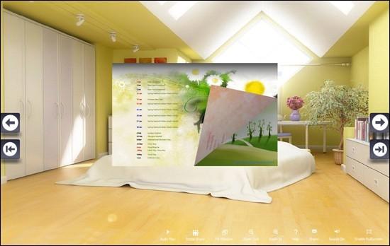 FlipBook Creator Themes Pack: Calendar Housing