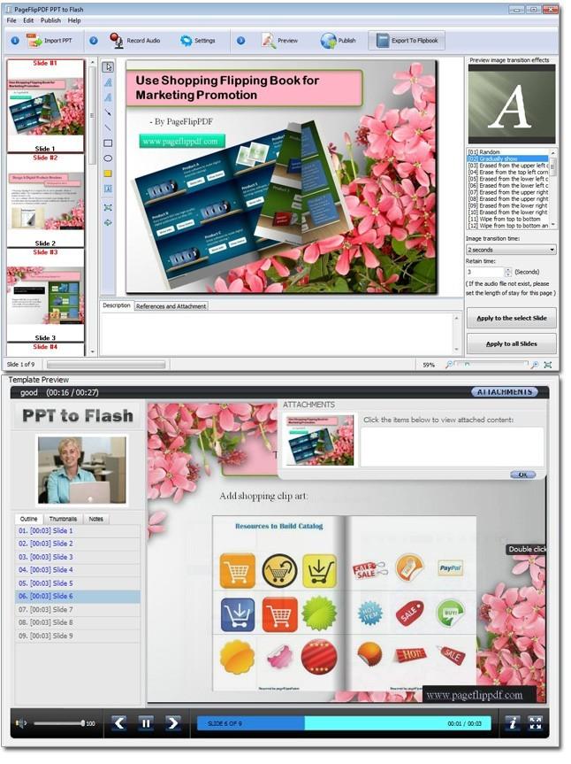 Free PageFlipPDF PPT to Flash