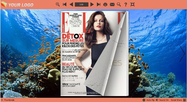 Tropical Fish Themes for PDF Publisher