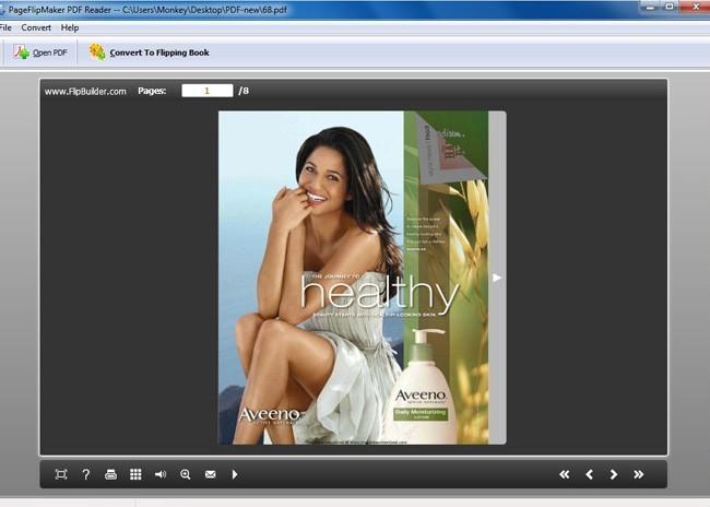 Free PageFlipMaker PDF Reader