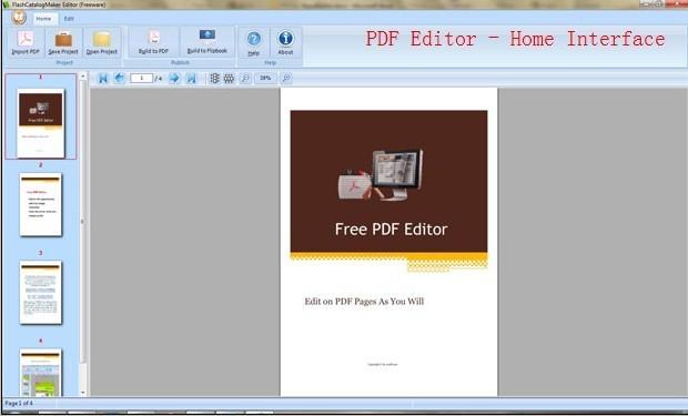 FlashCatalogMaker Free PDF Editor