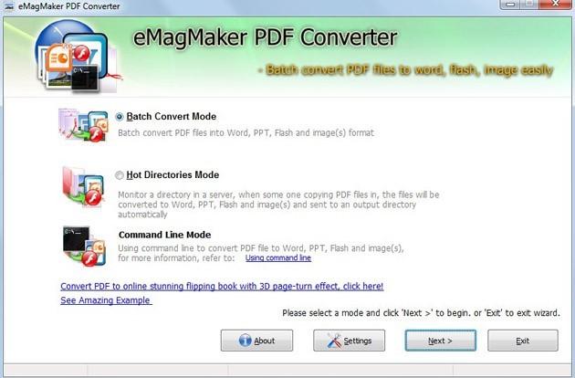 Free eMagMaker PDF Converter