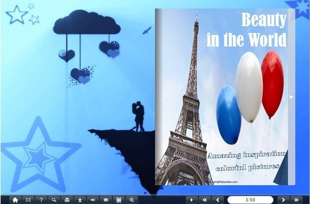 Catalog Templates of Blue Imagination