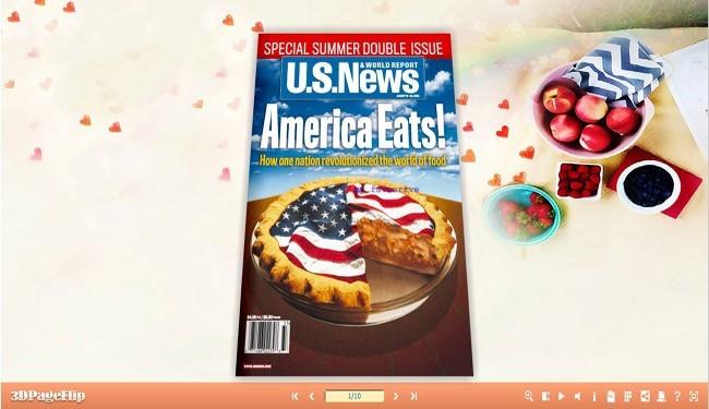 3D PageFlip Sweet Food Templates(1)