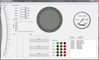 Monterey ROV Controller 2.0.2 Beta