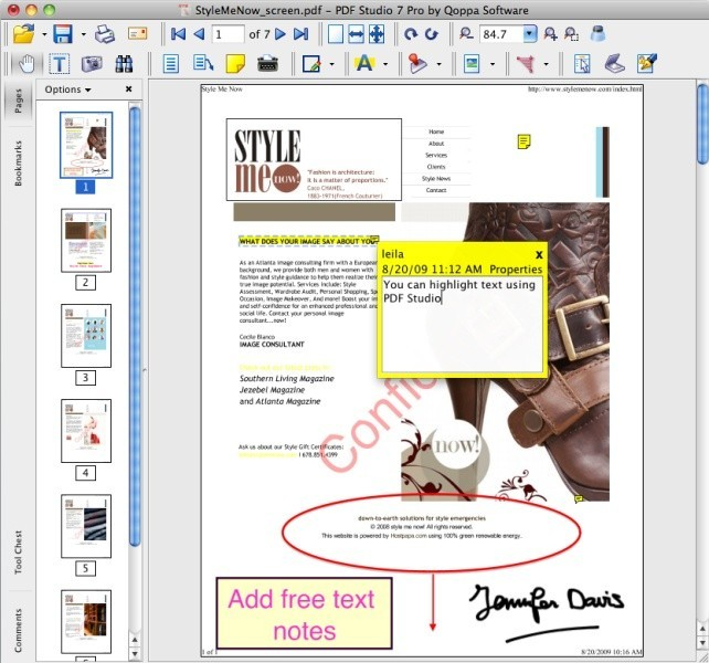 PDF Studio Pro PDF Software for Mac OSX