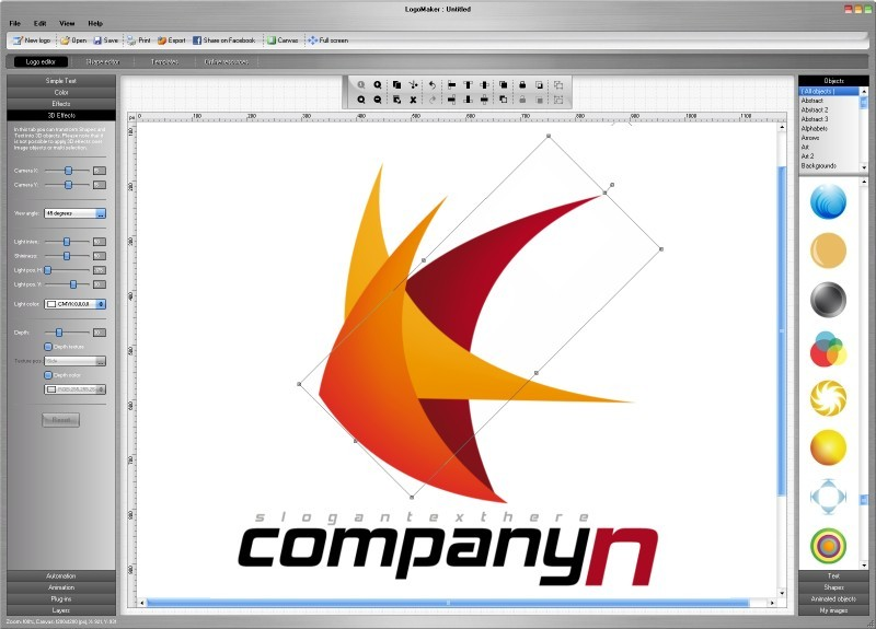 Download free logo maker by logo maker v 2 4 software 173450 for Blueprint creator online free