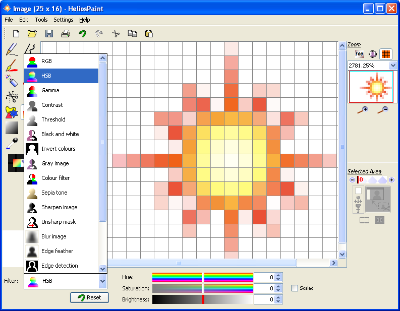HeliosPaint for Microsoft Windows