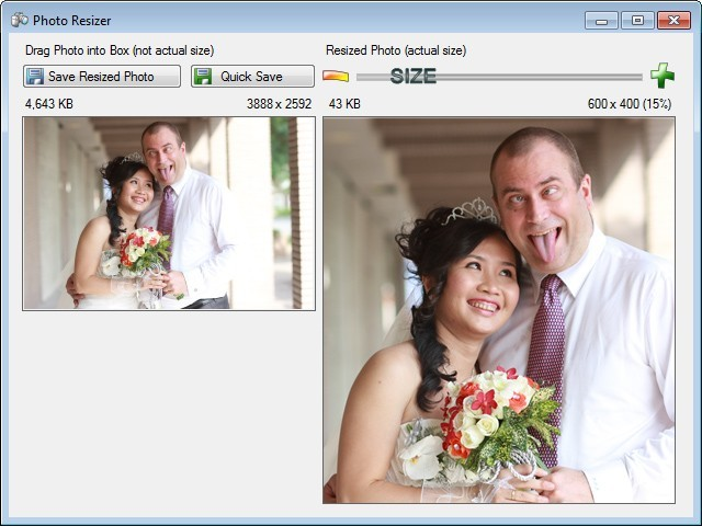 Photo Resizer by Super Simple