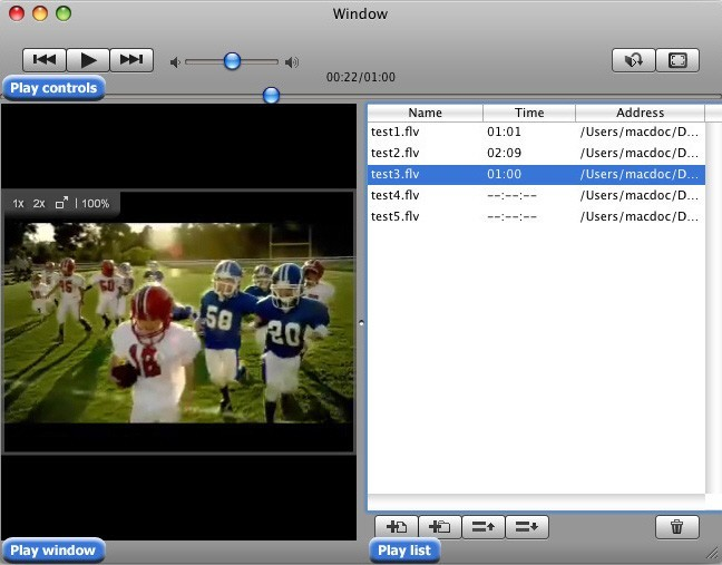 Mac FLV Player For Free