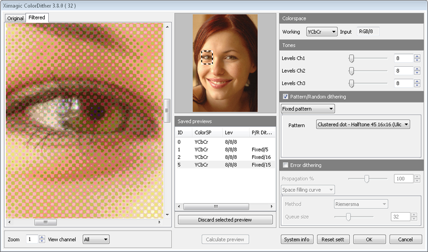 Ximagic ColorDither for Windows (x64 bit)