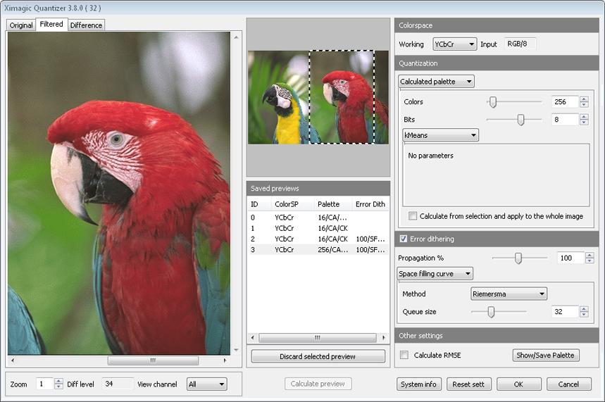 Ximagic Quantizer for Windows (x64 bit)