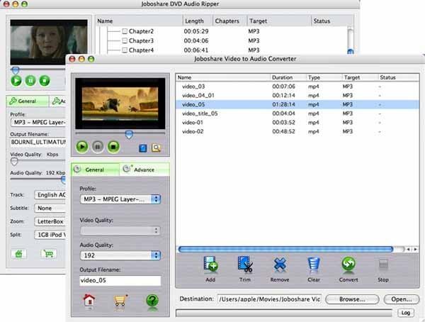Joboshare DVD Audio Ripper Bundle for Mac