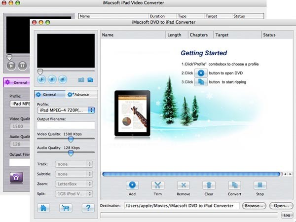 IMacsoft DVD to iPad Suite for Mac