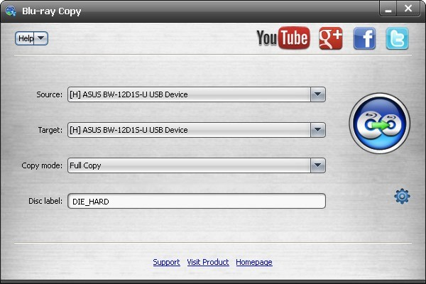 AnyMP4 Free Blu-ray Copy