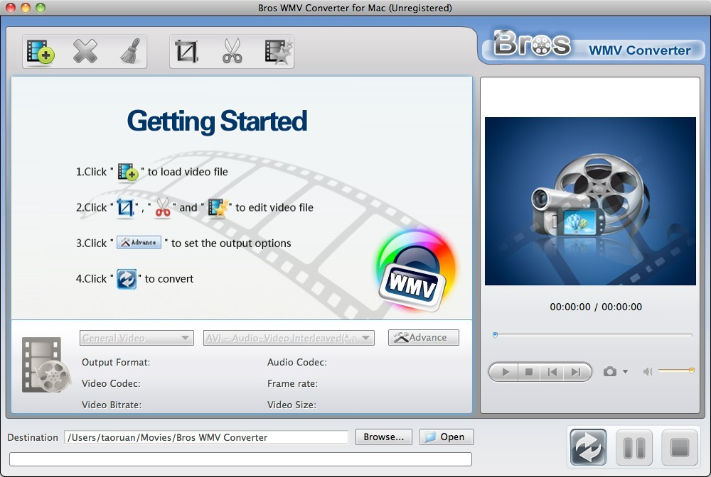 Bros WMV Converter Mac