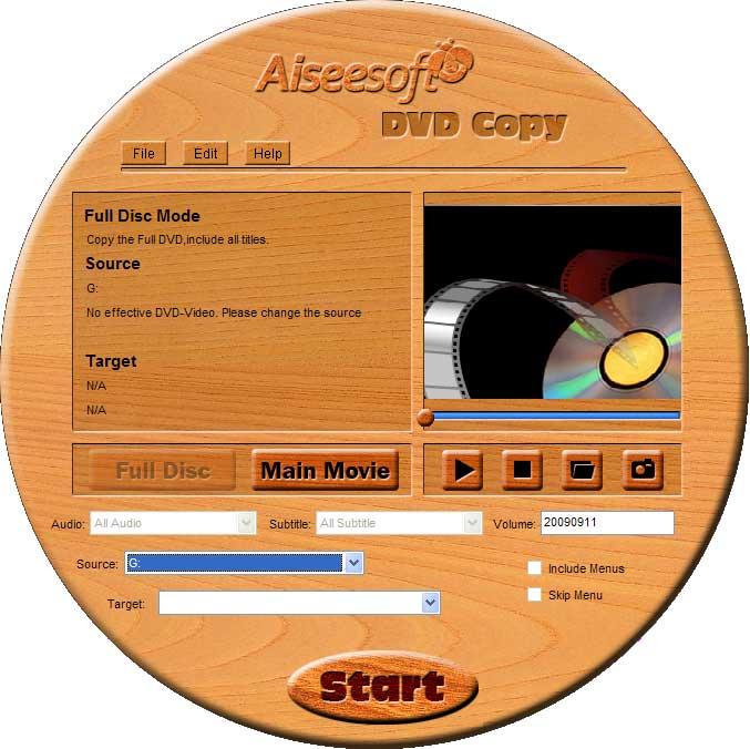 Aiseesoft DVD Kopie Software
