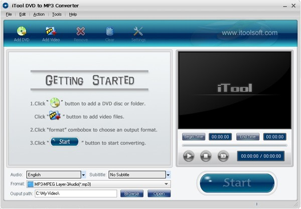 IovSoft DVD To Audio Converter