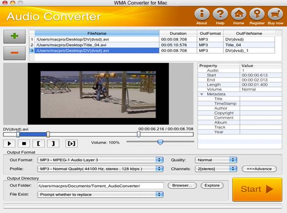 WMA Converter for Mac