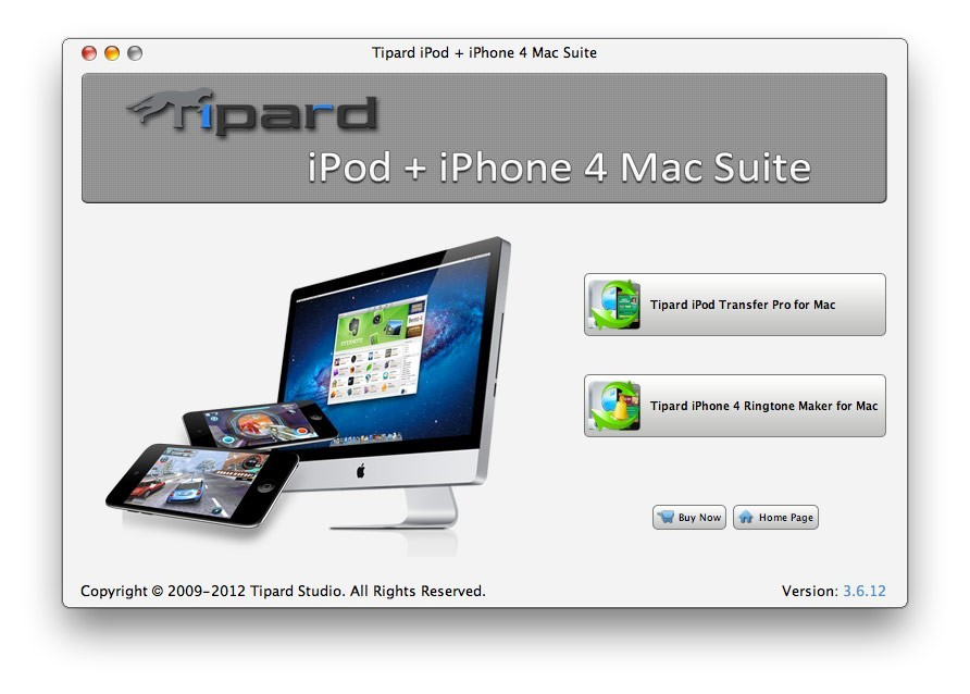 Tipard iPod + iPhone 4G Mac Suite