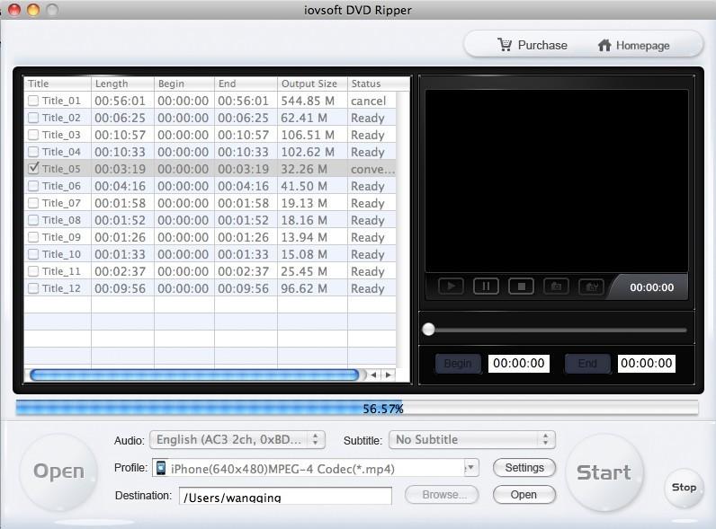 DVD Ripper for Mac - pop