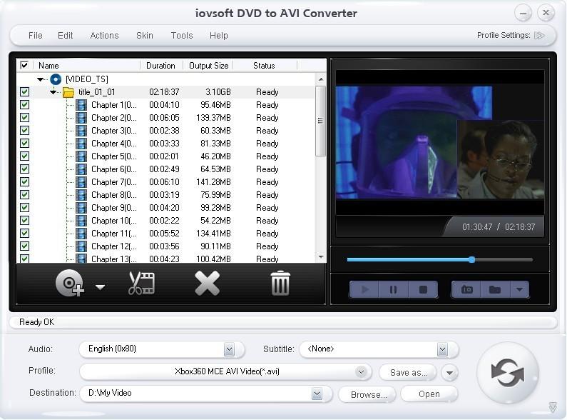 DVD to AVI Converter - pop