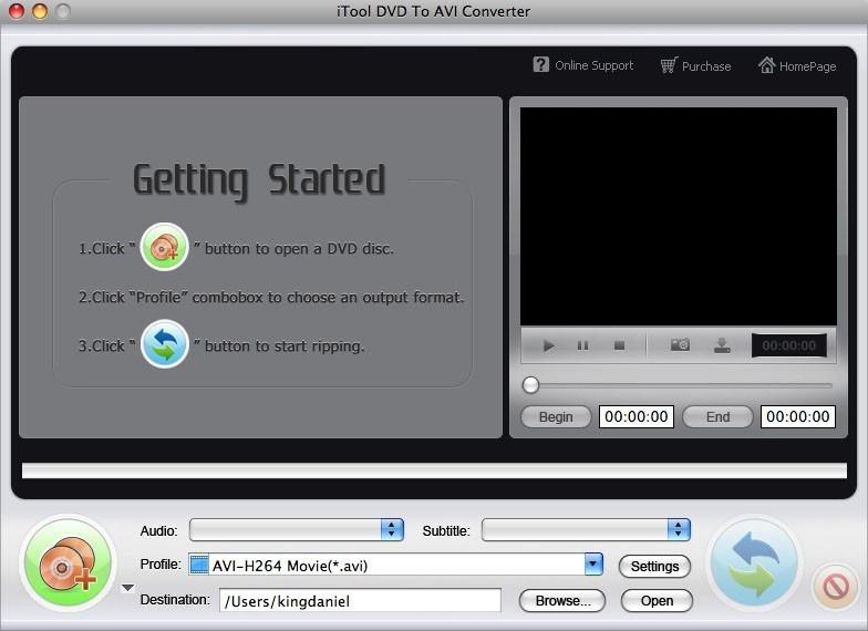 ITool DVD to AVI Converter for MAC