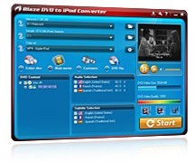 Blaze DVD to iPod Converter