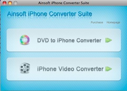 Ainsoft iPhone Converter Suite for Mac