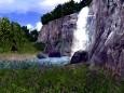 3D Vivid Waterfall Screensaver