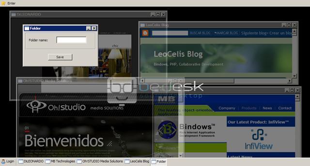 BeDesk WebOS Open Source